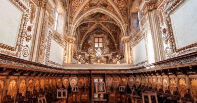 Coro dei Conversi della Certosa di Padula