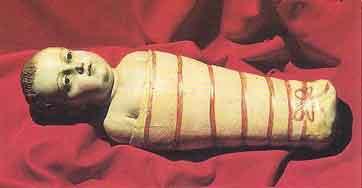 Il DIVINO INFANTE DELLA CHIESA DI CAMPANILE (Frasso Telesino)