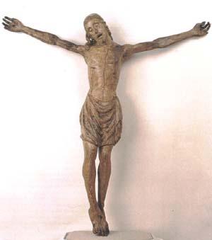 Cristo ligneo chiesa di Santo Spirito in Firenze - Michelangelo