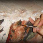 Ritocco Pittorico: Restauro del dipinto in quanto frammento
