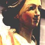 Restauro di una statua lignea policroma