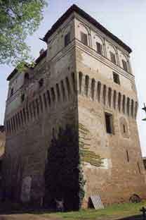La Torre dalla quale prende il nome il paese