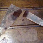 Gli stucchi usati nel restauro del mobile