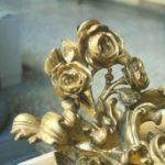 Cornici intagliate e dorate