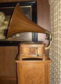 Grammofono e mobiletto