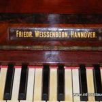 Pianoforte Friedr Weissenborn (Hannover)