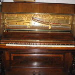 Pianoforte verticale Paul Lexow Berlin