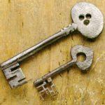 Le chiavi in Valle d'Aosta, Piemonte, Liguria