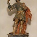 Statua lignea policroma