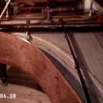 Fortepiano a coda, marca Tomaschek