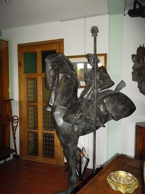 Claudio Nicoli: Grande Cavallo con cavaliere