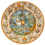 Restauro del grande piatto del servizio Este-Gonzaga