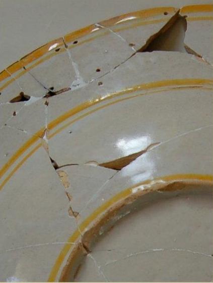 Restauro del grande piatto del servito Este-Gonzaga