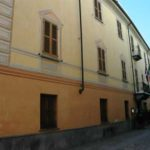Il palazzo comunale di via Saracco a Bistagno