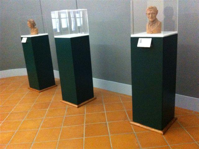 Gipsoteca Monteverdi: sala n. 1 nuova teca