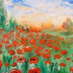 La pittura di Carmen Sarbu