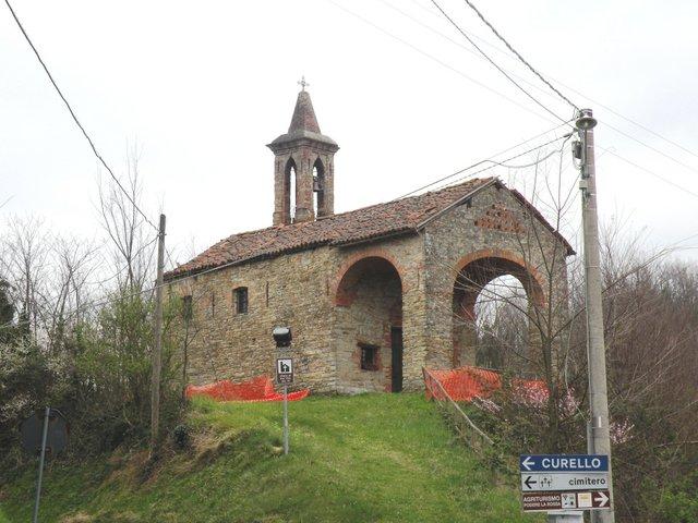 Chiesa di San Vito a Morsasco: Vista su strada di San Vito