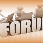 Il Forum è ora online