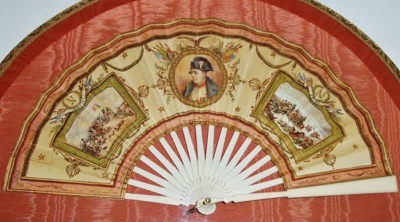 Storia del ventaglio IVa parte: ventagli emblematici