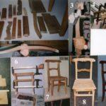 Restauro della sedia Luigi Filippo