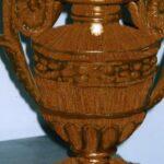 Restauro di una palmetta Luigi XVI