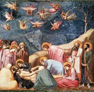 Compianto su Cristo morto - Con finitura a secco