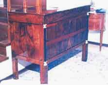 Restauro e Antiquariato: Cassettone Impero restaurato da Francesca