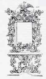 Bottega di Andrea Fantoni: Disegno di consolle e specchiera