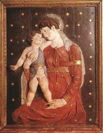 """""""Madonna con Bambino"""" Opera in cartapesta di Jacopo Sansovino. -Museum of Fine Arts, Budapest-"""