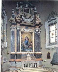 Ancona dell'Immacolata, 1633, Carpi Chiesa di San Niccolò.