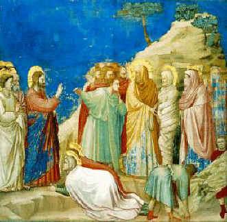 Cappella degli Scrovegni: La resurrezione di Lazzaro