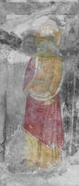 Foto 5: San GIovanni Apostolo a destra della Croce