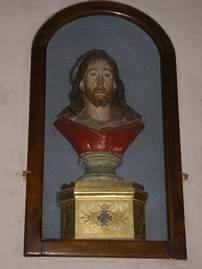 Anzola dell'Emilia: Busto in terracotta