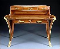 Scrittoio Art Nouveau realizzato da Louis Majorelle