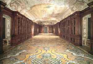 Biblioteca all'interno della Certosa