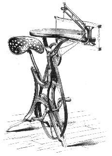 Intarsio: seghetto a pedali