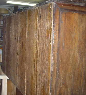 La schiena dopo l'intervento di restauro