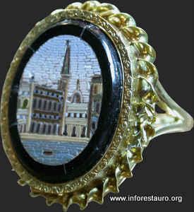 micromosaio su anello