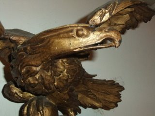 Perizia - Specchiera inglese epoca Regency