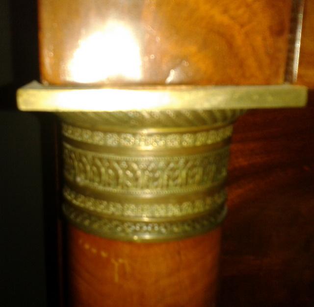 Cassettone francese in pima di mogano
