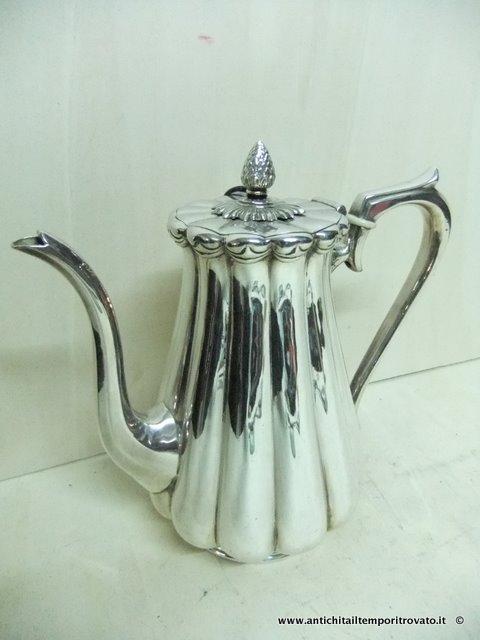Caffettiera German Silver