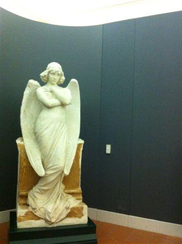 Gipsoteca Monteverdi: sala n. 2 nuova pannellatura