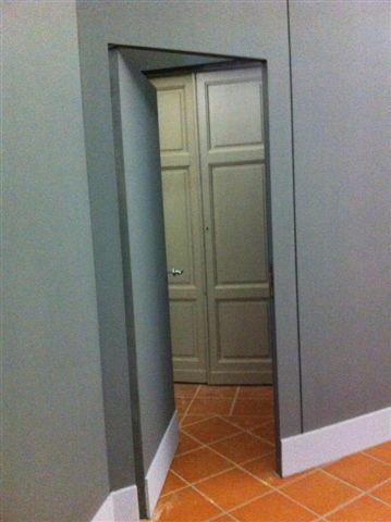 Gipsoteca Monteverdi: sala n. 1 corridoio ispezionabile